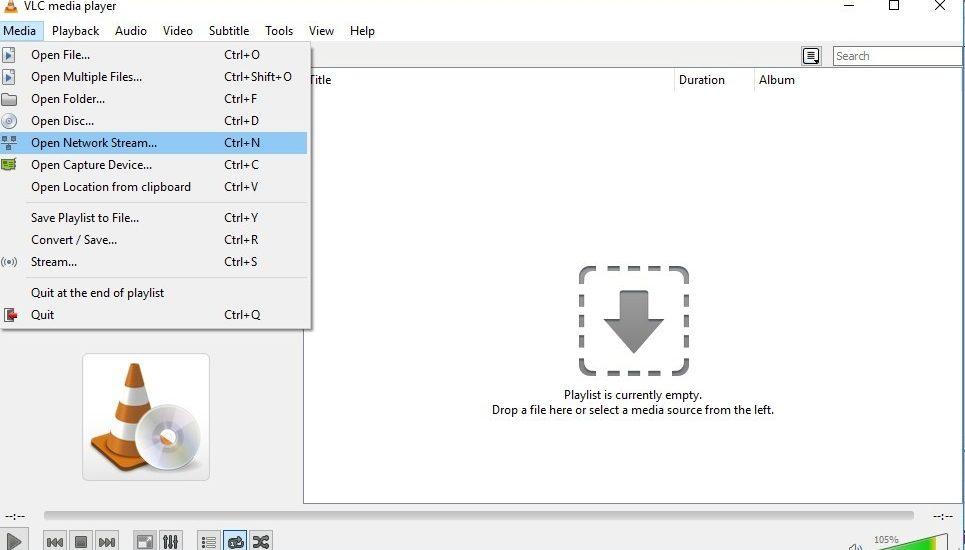 طريقة تشغيل ملف قنوات iptv m3u playlist علي الويندوز 10 والكمبيوتر بواسطة برنامج vlc