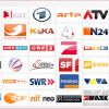 ملف قنوات iptv m3u playlist للقنوات الالمانية والاوروبية Germany Europe 04/03/2019